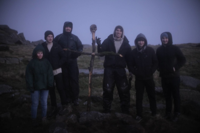 Some of the 'Wander' skeleton crew
