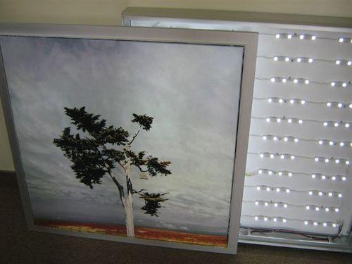 Finishing, frames, light boxes & installations — Emerson Design