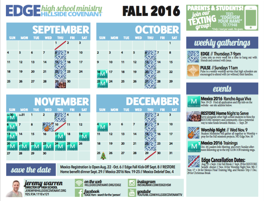 Click the link below to download the Fall 2016 Calendar