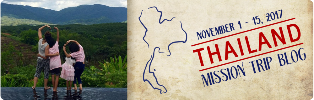 2017 Thailand Mission Trip