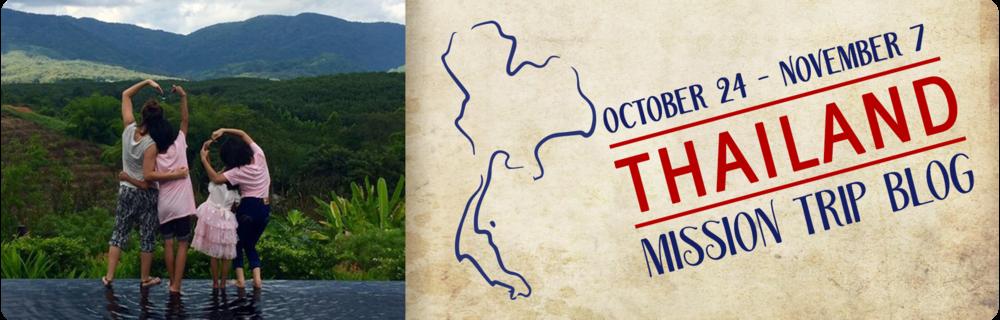 2018 Thailand Trip Blog