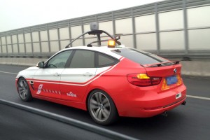 Baidu, the Chinese search engine, is applying its software expertise to the challenge of autonomous vehicles. (Baidu)
