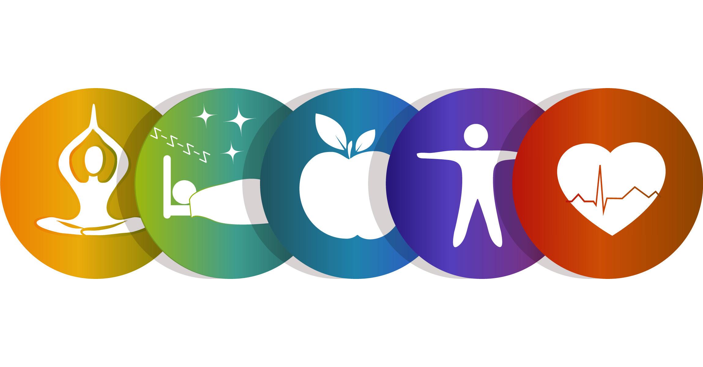 Health and wellness symbols