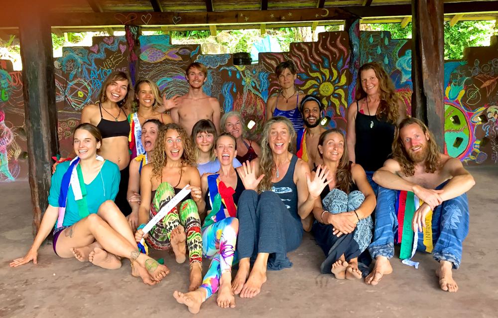 2017 5Rhythms Workshop: Natural Mystic participants