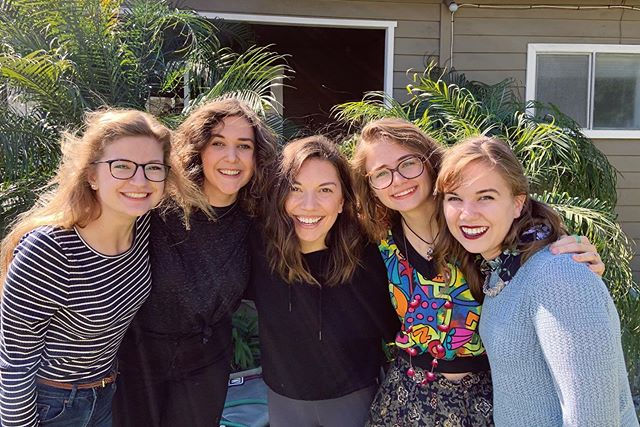 From four European countries to Southern California...So fun to have these girls over for breakfast this morning!