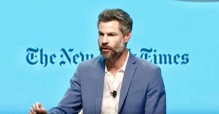Michael Shellenberger, Independent gubernatorial candidate. Click the photo above to watch a video of his announcement at New York Times climate event, December 1, 2017.