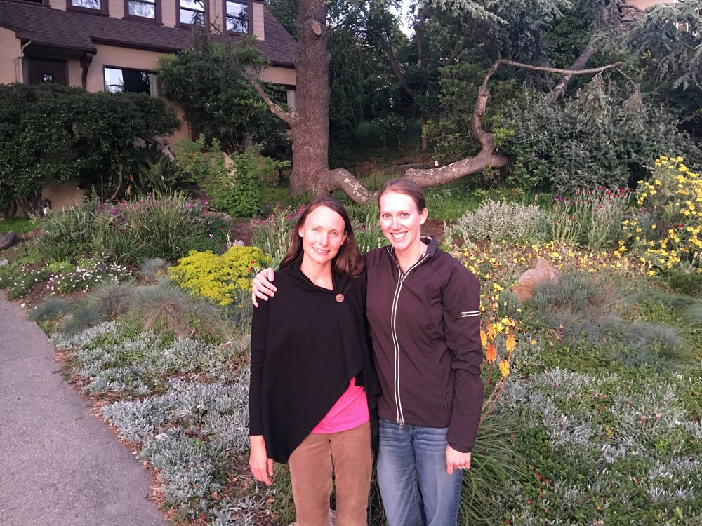 Kristin Zaitz and Heather Matteson, founders, Mothers for Nuclear, and engineers at Diablo Canyon.