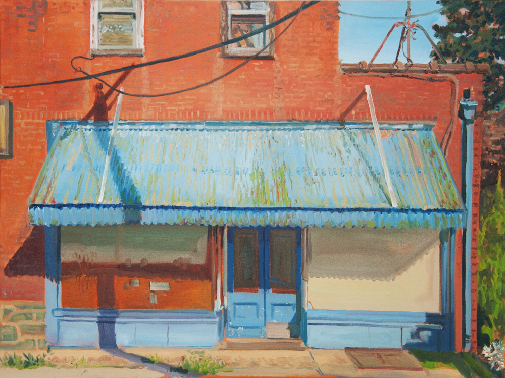 The Old Deli - oil on canvas, 30 x 36 in
