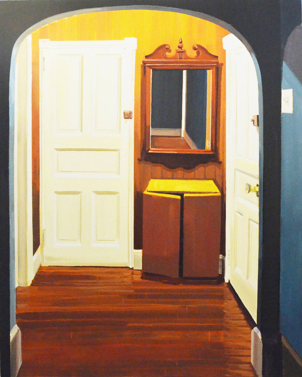 My Archway -  oil on canvas, 89 x 72 in
