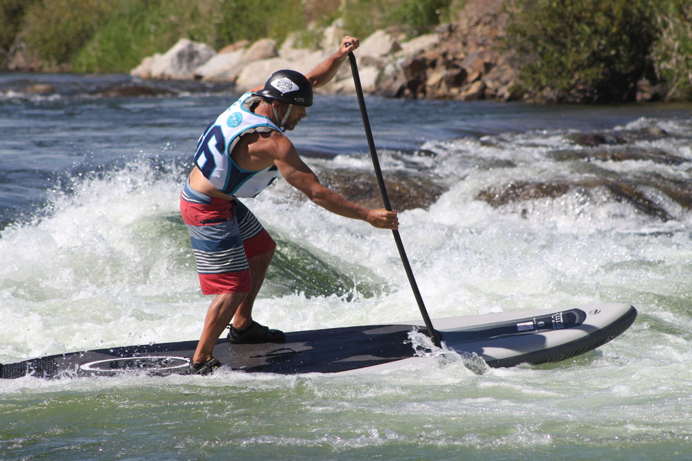 Eric Giddens on his way to 5th place at the 2015 Payette River Games