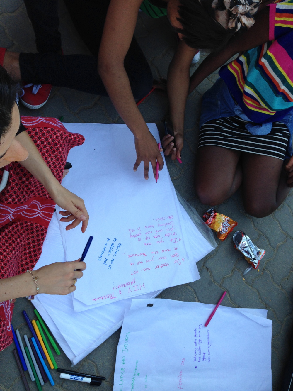 Working together with adolescents to better understand non-access to SRH services