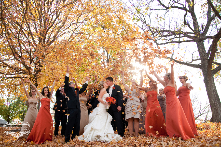 Fall Wedding | Missouri Wedding Photographer