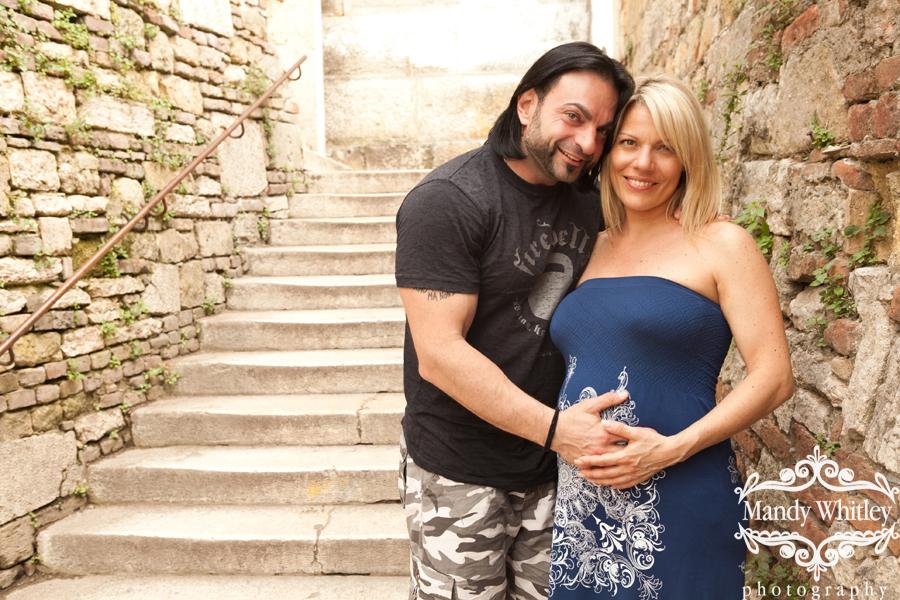 italian maternity session