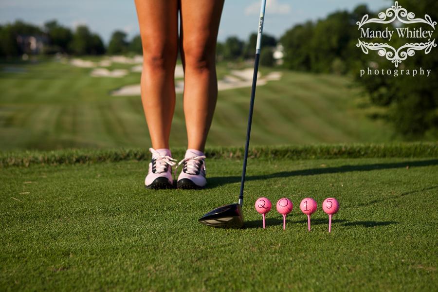 Senior Girl Golf Photography