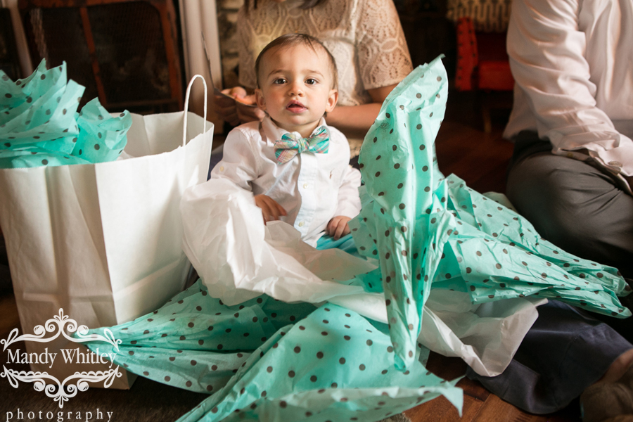 Southern bow-tie one year old birthday party