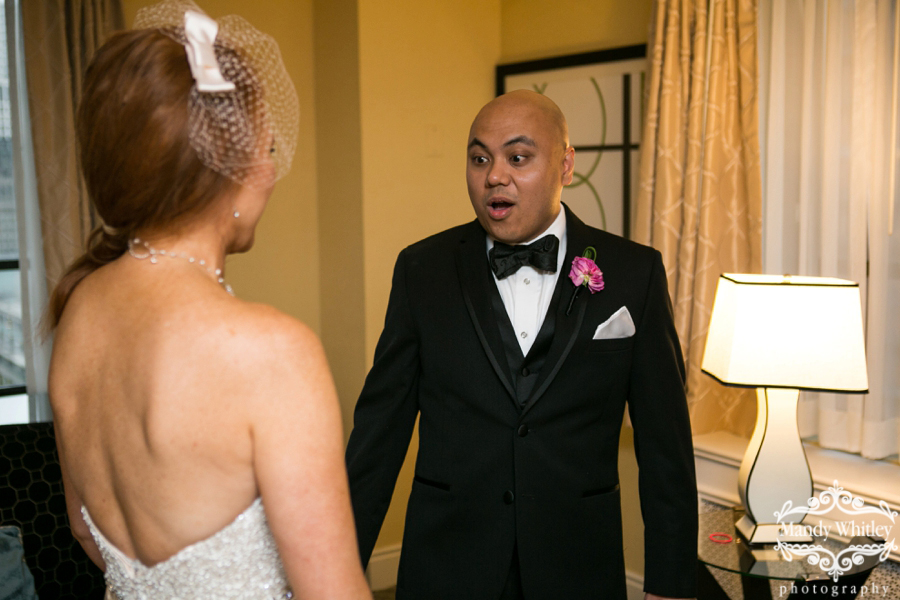 Chicago Wedding Photography at Allerton Hotel