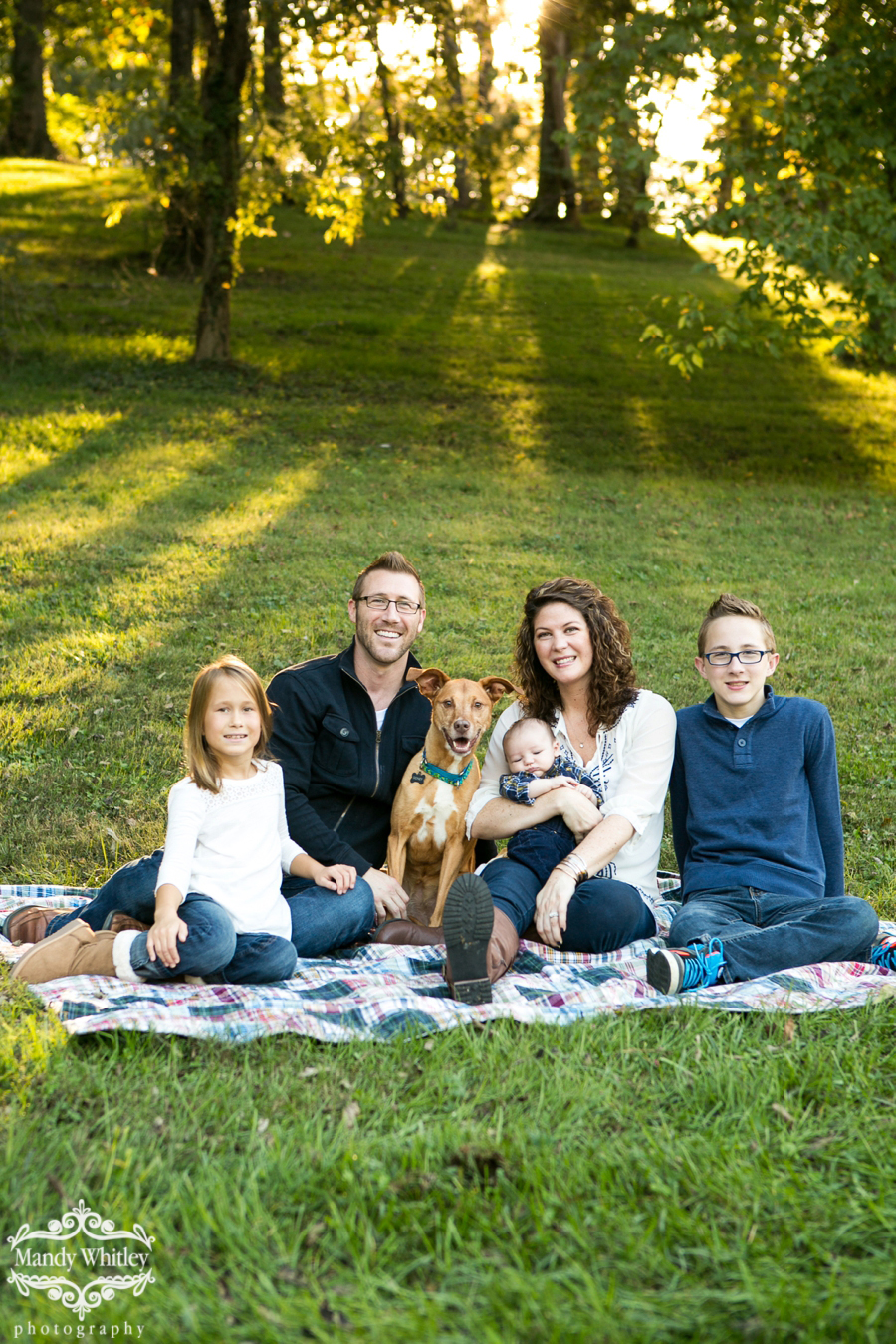 Nashville family and pet photographer Mandy Whitley Photography