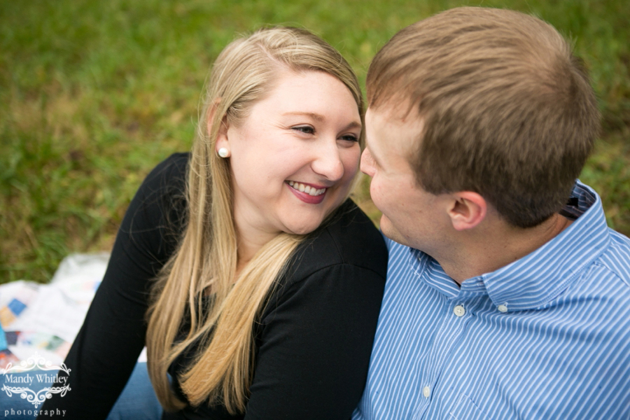 Nashville Engagement Session Alabama Rain Mandy Whitley Photography