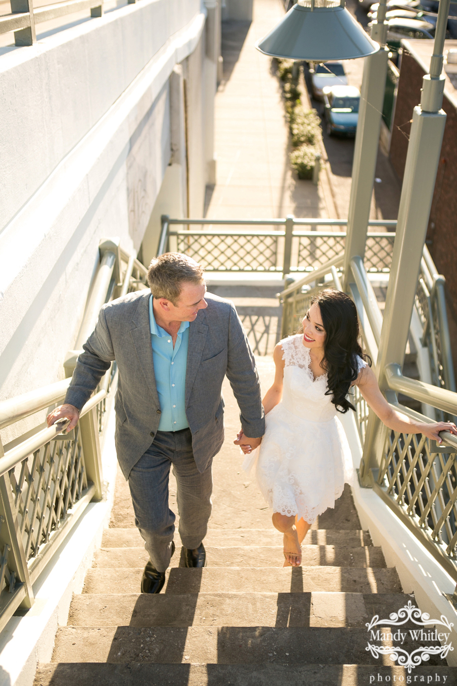 Downtown Nashville Engagement Session by Mandy Whitley Photography