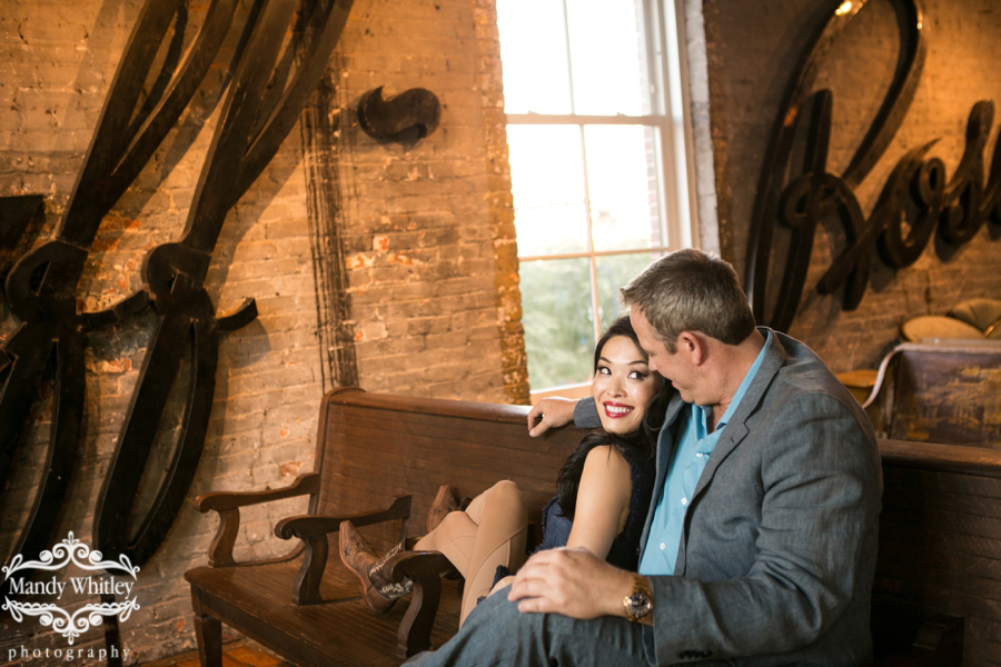Downtown Nashville Engagement Session at ACME by Mandy Whitley Photography