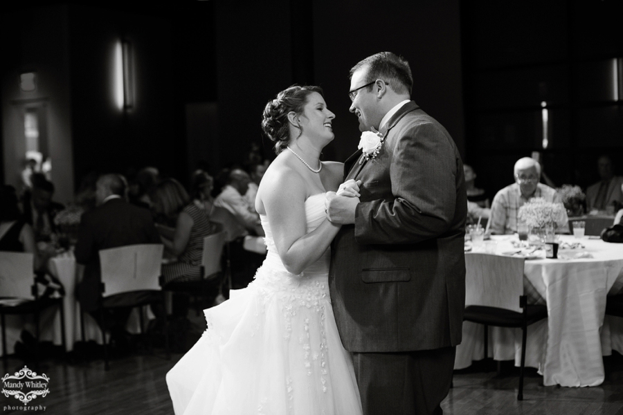 W.O. Smith School of Music Wedding Photographed by Mandy Whitley Photography, a Nashville Wedding Photographer
