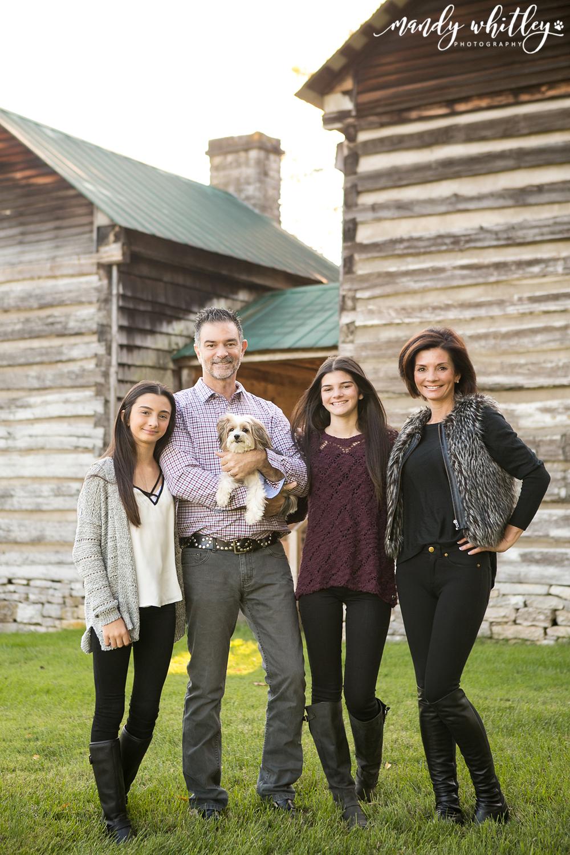 Fall Family Session Nashville Dog Photographer