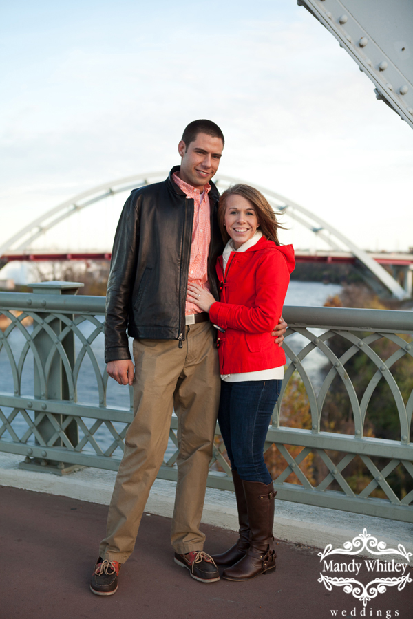 Nashville Wedding Proposal Photographer Shelby Street Bridge