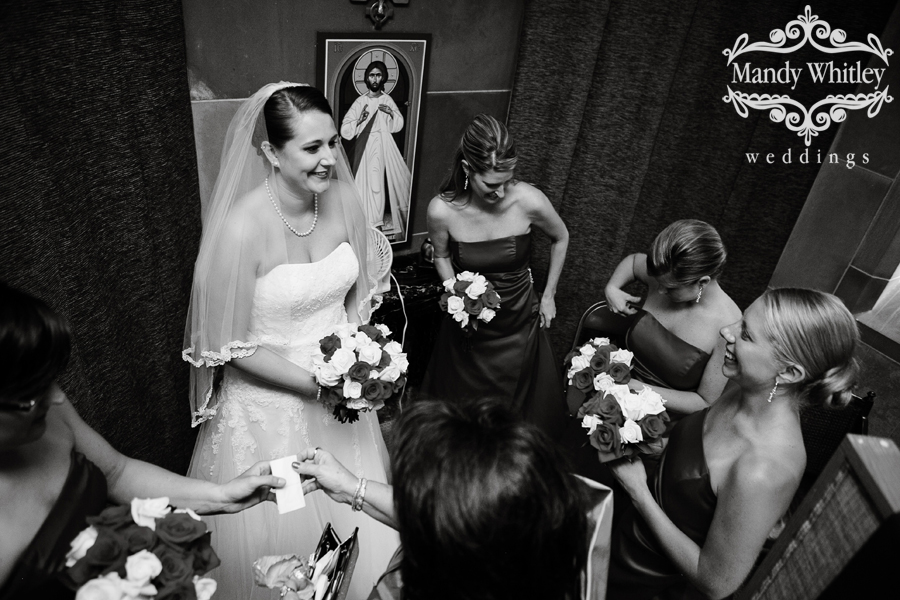 Nashville Wedding Photographer at Christ the King Church