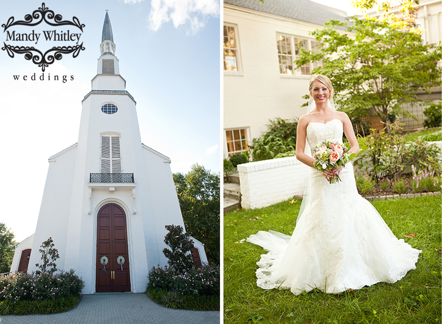 Woodmont Christian Church Wedding Mandy Whitley