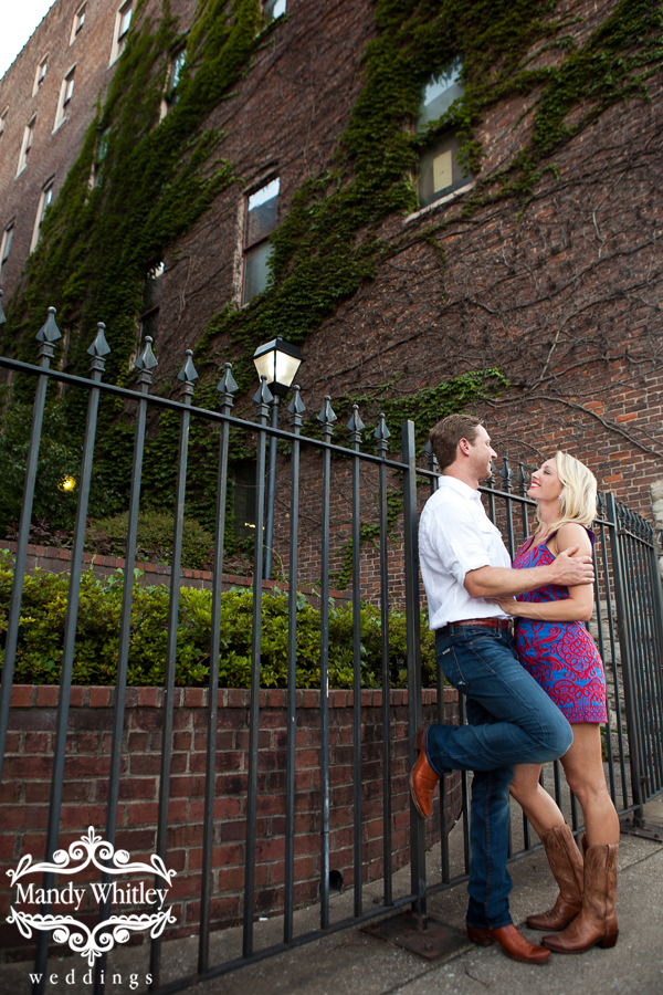 Downtown Nashville Engagement Photographer