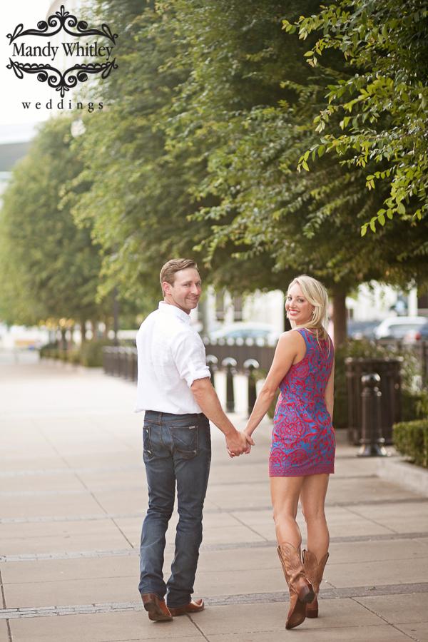 Downtown Nashville Engagement Session Nashville Wedding Photographer
