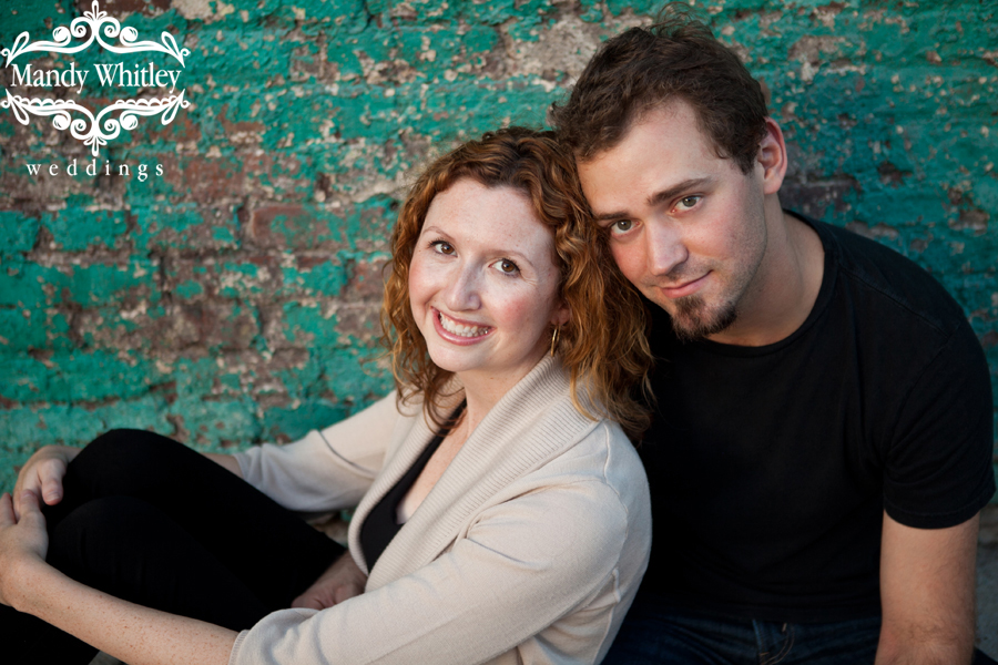 Downtown Nashville Engagement Photography Pedestrian Bridge