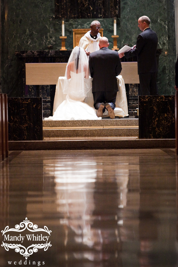 Christ the King Church Nashville Wedding Photographer