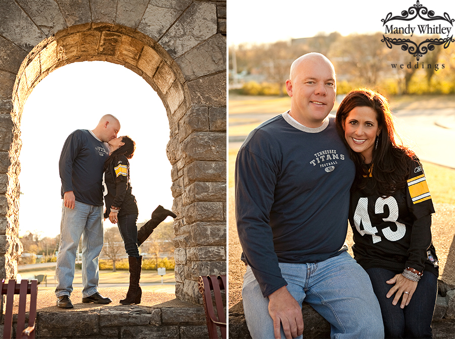 Greer Stadium and Fort Negley Park Engagement Session