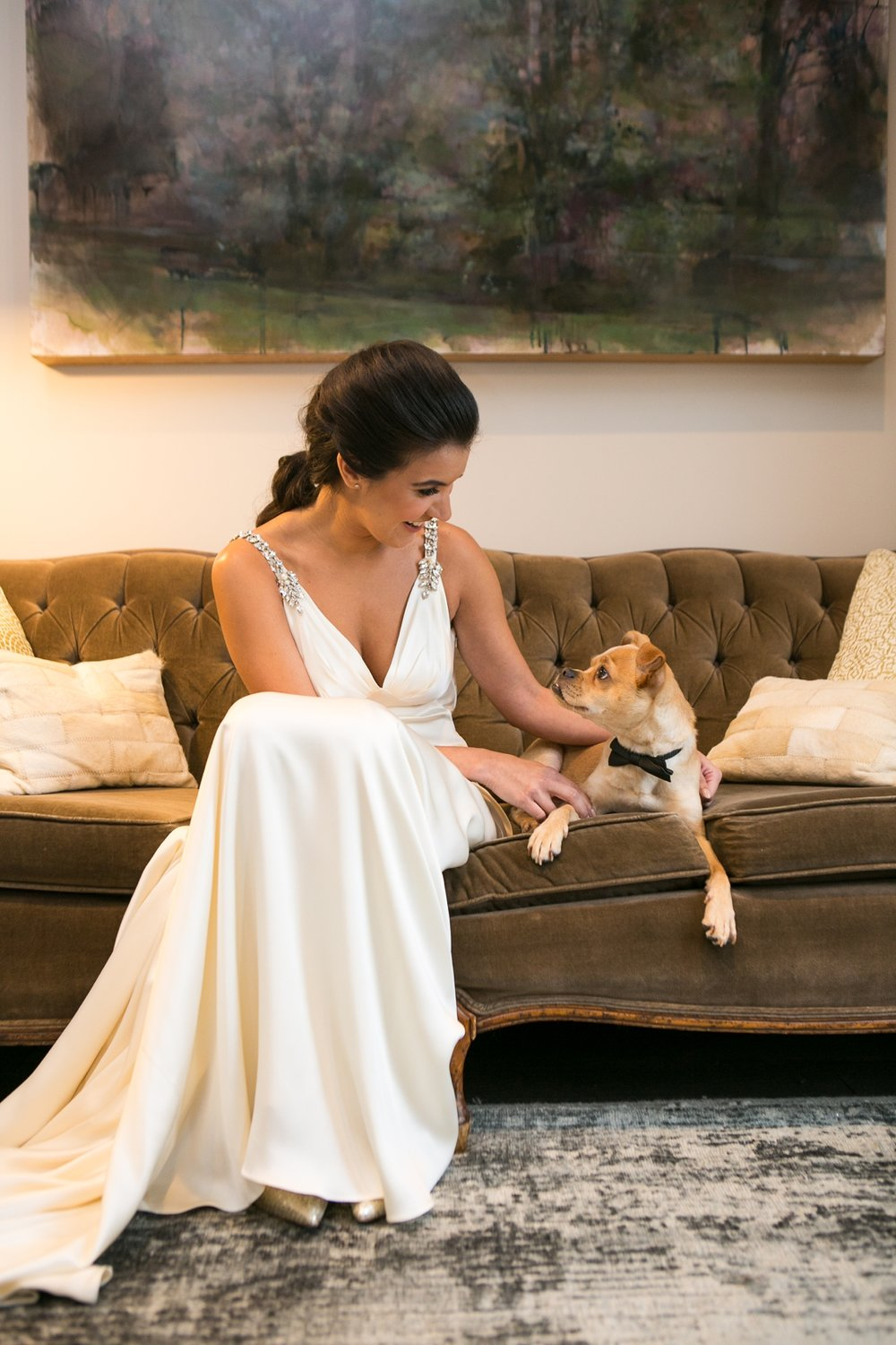 Dog-Friendly Wedding | Nashville Wedding Photographer