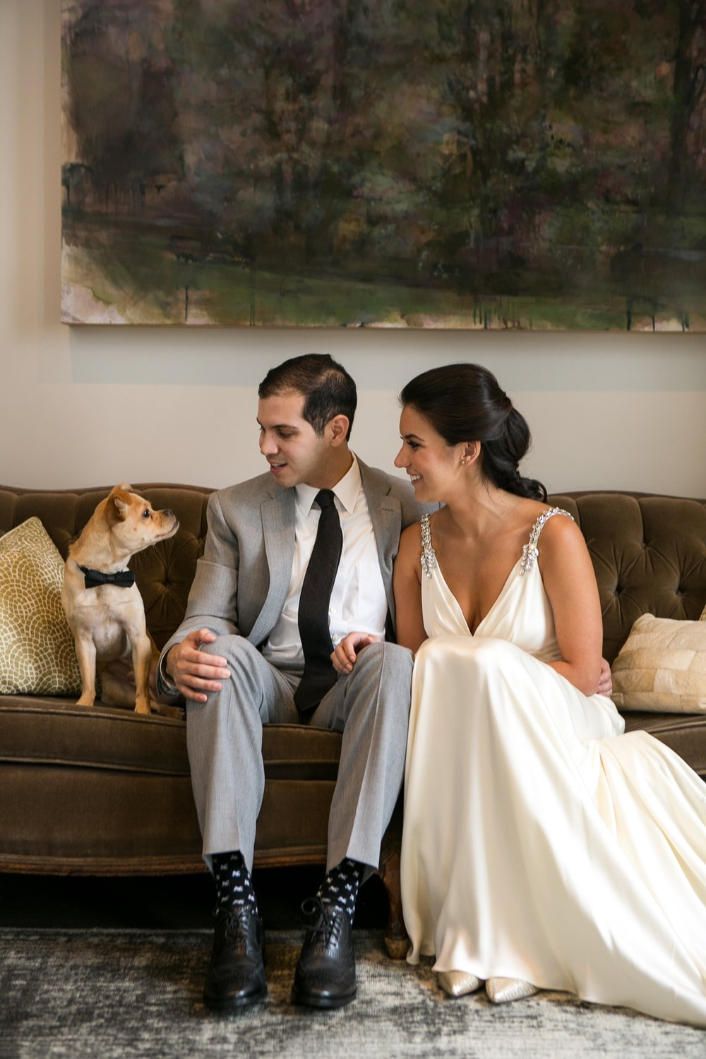 Nashville Wedding Photographer | Wedding with Dogs