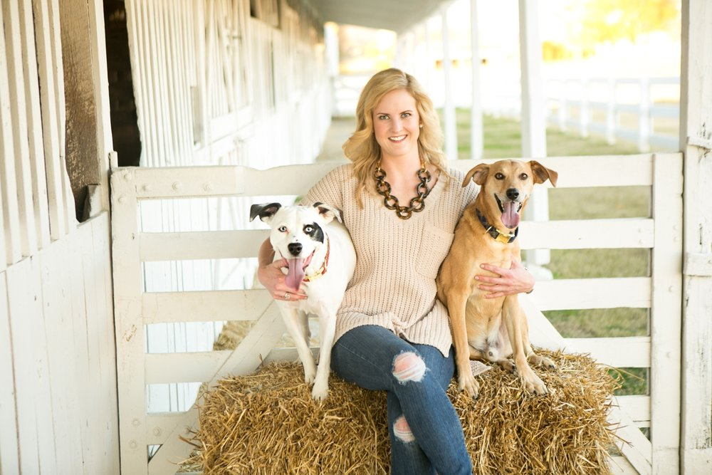 Family Photos with Pets | Nashville Family Photographer