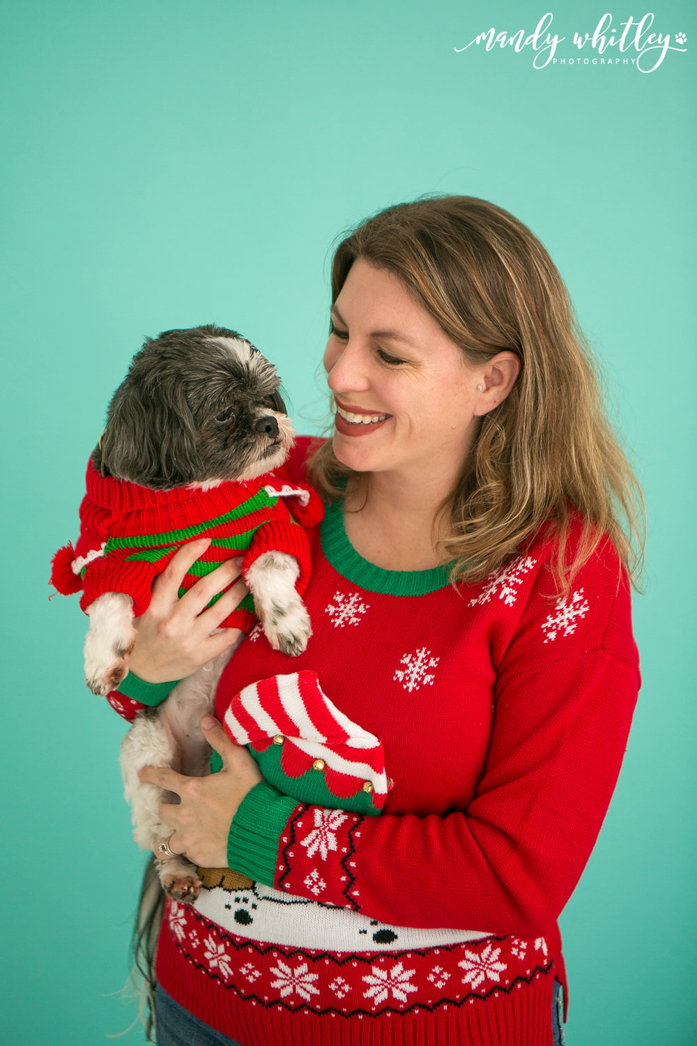 Nashville Dog Photographer Holiday Pet Family Portraits