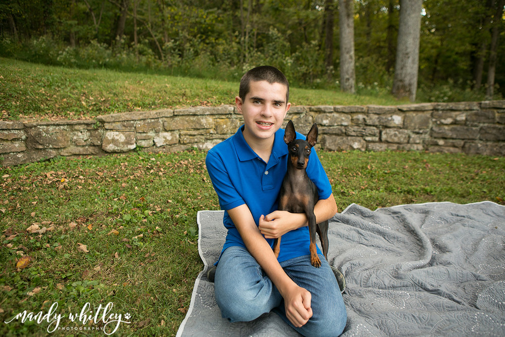 Pet and Family Photographer in Nashville