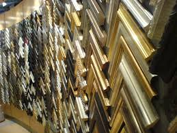 Here is just one side of a display of 1000's of frames. A good selection  to make sure you get the right one for your project.