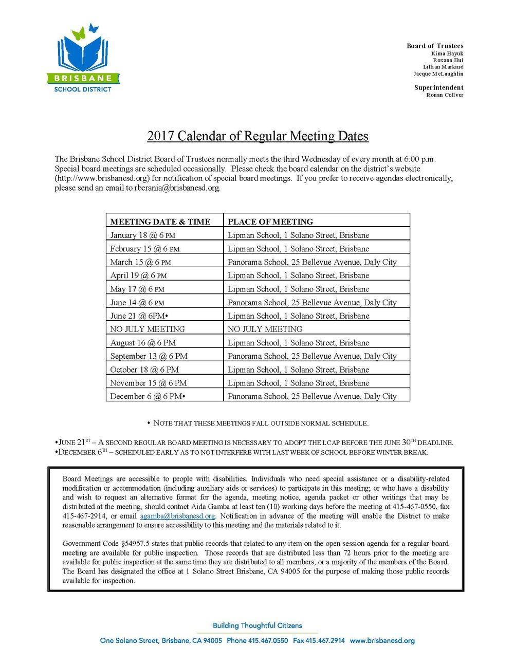 2017 Calendar of Regular Meeting Dates Upd..jpg