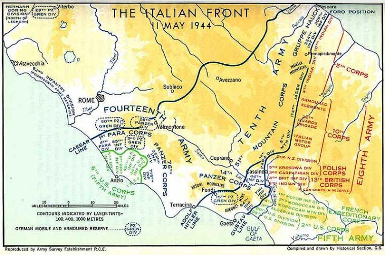 Anzio proved to be a difficult campaign