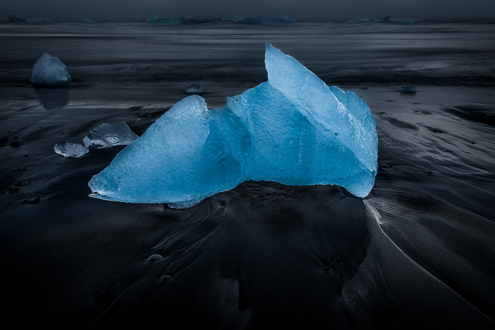 Blue Ice, Black Sand