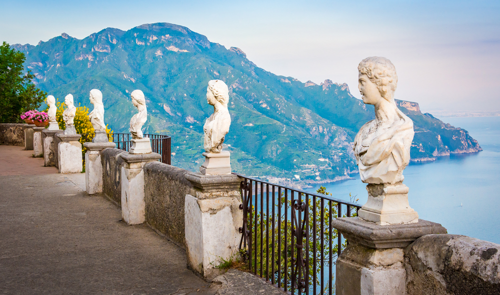 The busts of The Belvedere