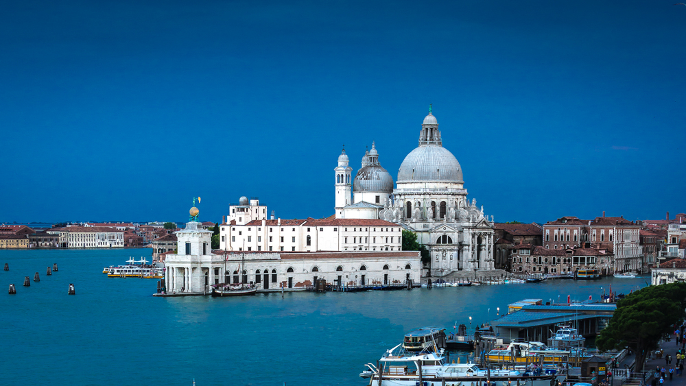 The Dogana and Santa Maria della Salute