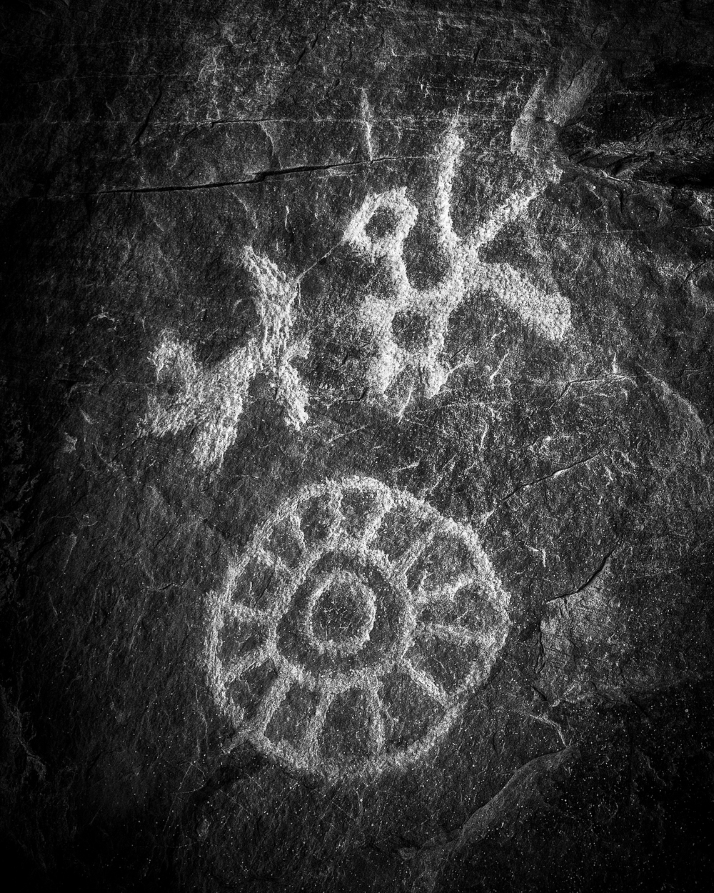A petroglyph or a pictograph?