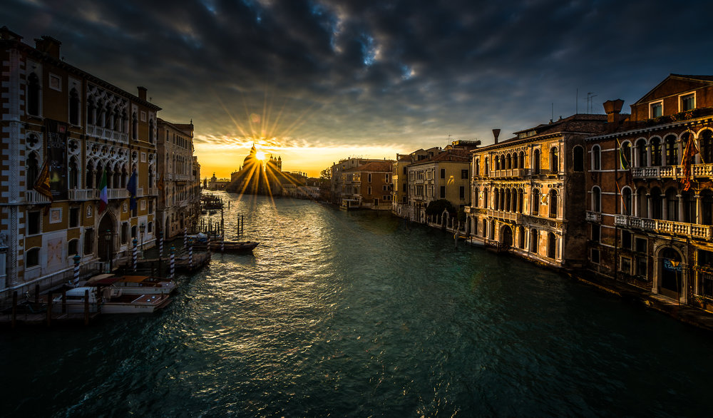 Sunrise on the Grand Canal