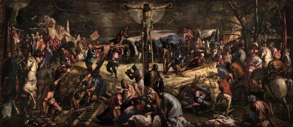 "Tintoretto's ""Crucifixion"""