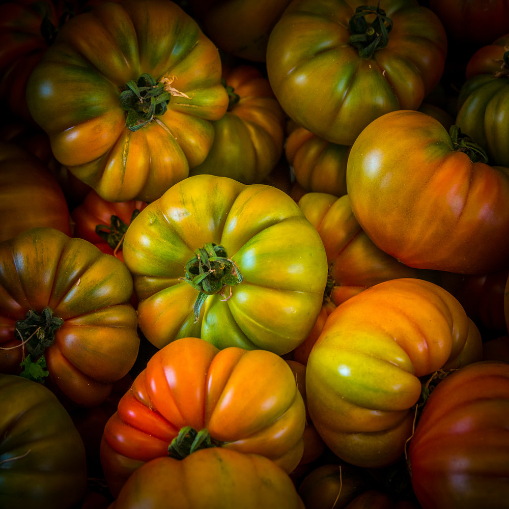Rialto Market heirloom tomatoes