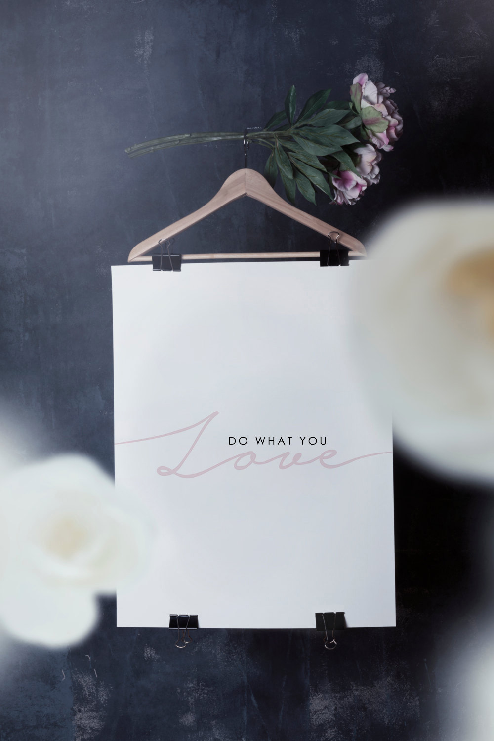 Do What You Love Art Print by  ChicScandinavian on Etsy
